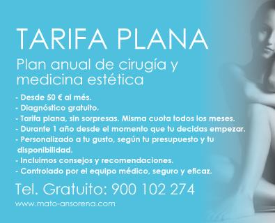 TARIFA PLANA- Tratamientos de Cirugía y Medicina Estética