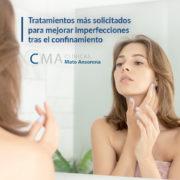 Tratamientos estéticos faciales para la nueva normalidad