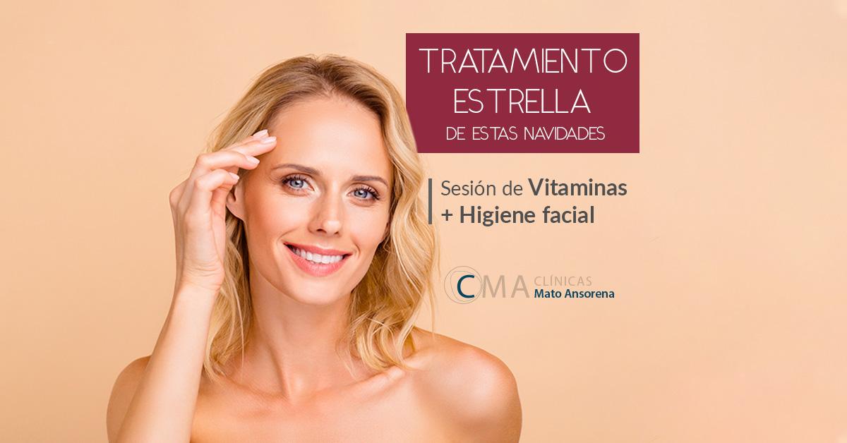 vitaminas para la cara