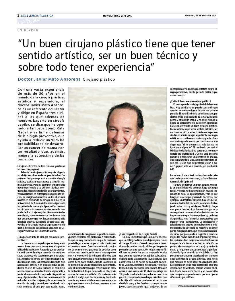 Excelencia en Cirugía Plástica