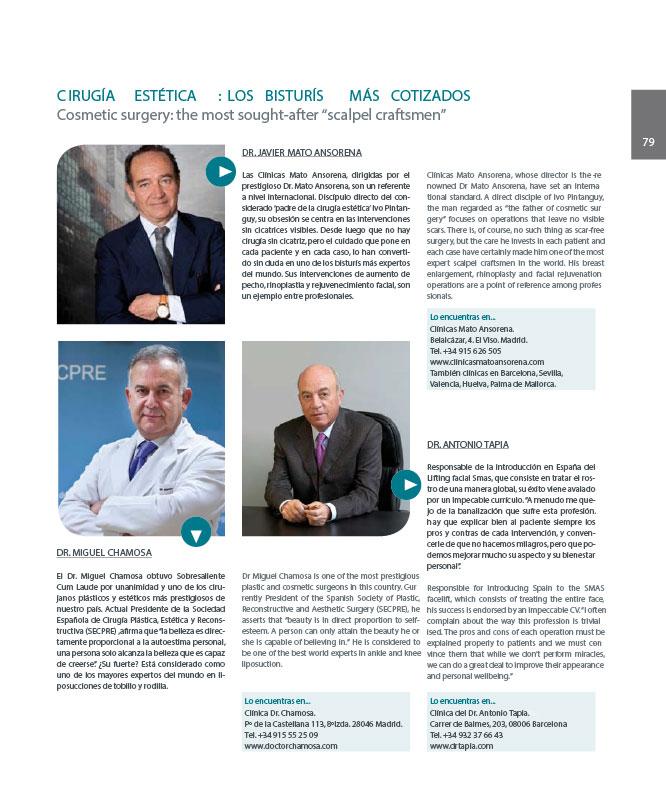 Los mejores Cirujanos Plásticos de España