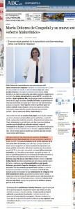 María Dolores de Cospedal y su nuevo estilismo «efecto hialurónico»