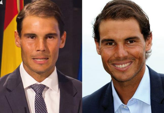 Pelo ganador Rafa Nadal