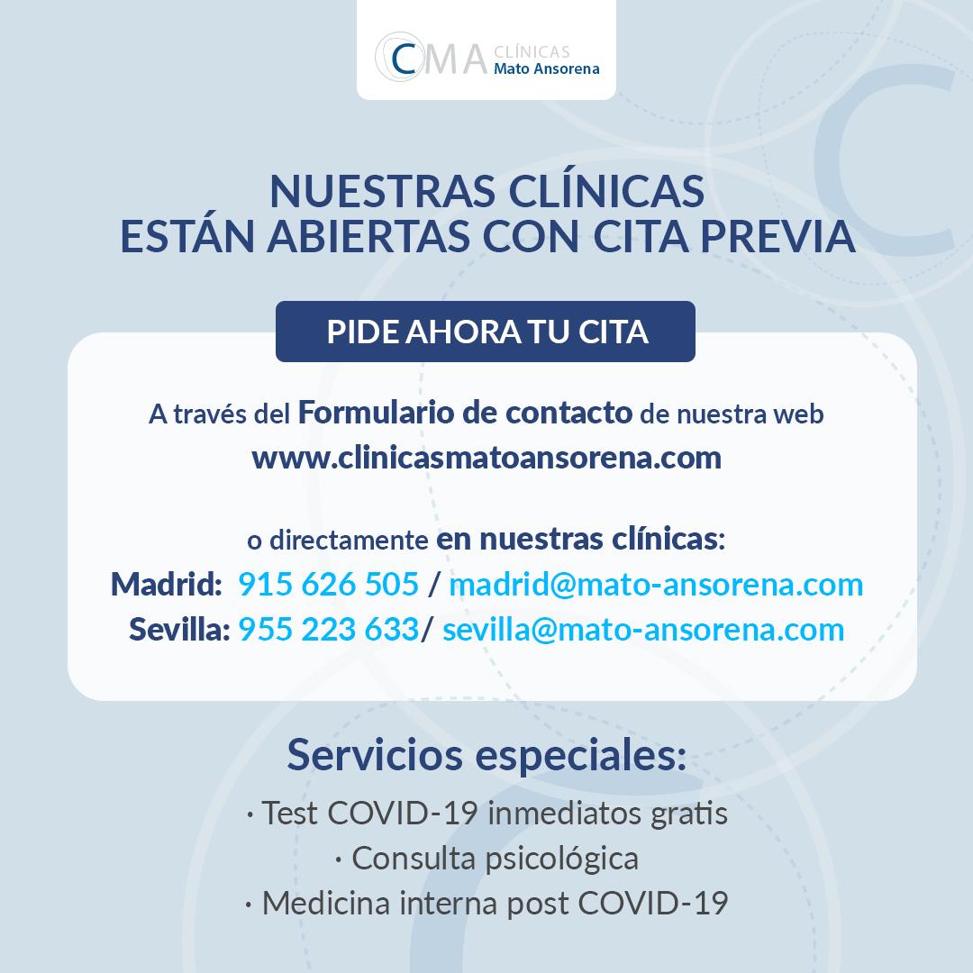 apertura clínicas